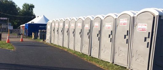 Rent portable washrooms for your corporate events or in-house parties