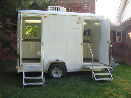 The Luxury Portable Toilets Are The Essential Necessities For Any - Portable bathroom trailers